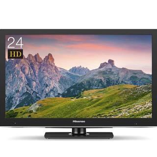 ハイセンス24型テレビ(テレビ)