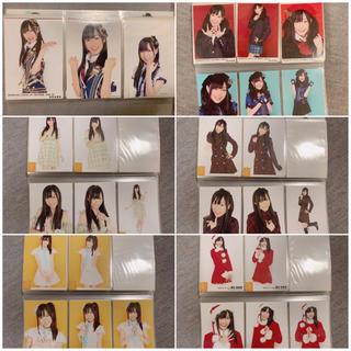 エスケーイーフォーティーエイト(SKE48)の須田亜香里 生写真 コンプセット(アイドルグッズ)