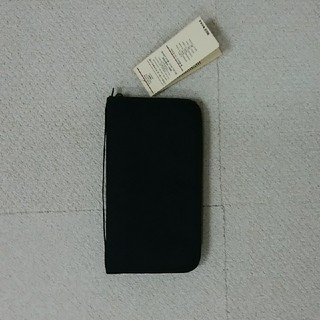 MUJI (無印良品) - ☆新品未使用☆無印 パスポートケース・クリアポケット付き 黒