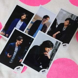 ニュース(NEWS)の☆★NEWS 加藤シゲアキくん 公式写真5枚セット★☆(男性アイドル)