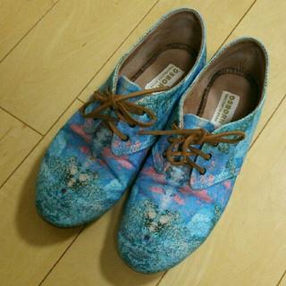 ギルドプライム(GUILD PRIME)の【値下げ】OSBORN オズボーン ハンドメイド靴(バレエシューズ)