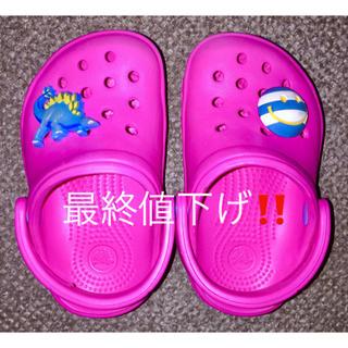 クロックス(crocs)のクロックス キッズ【美品】(サンダル)