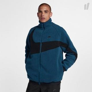 ナイキ(NIKE)のM Blue Nike Swoosh Full Zip Jacket(その他)