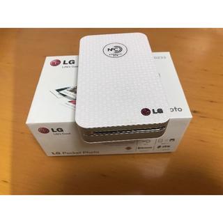 エルジーエレクトロニクス(LG Electronics)のLG PD233 写真プリンター + フォト用紙一箱(その他)