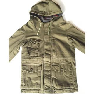 シフリー(SiFURY)のSi FURY シフリー コート カーキ色 ミディアムサイズ(ミリタリージャケット)