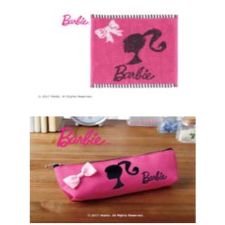 Barbie - バービー Brbie ポーチとハンドタオル