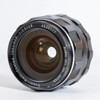 PENTAX - スーパータクマー Super Takumar M-C 28mm f3.5 清掃済