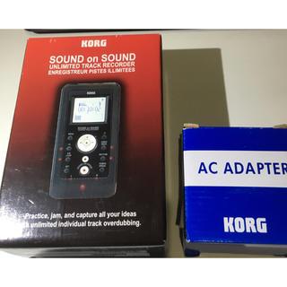 コルグ(KORG)のコルグ重ね録り ハンディ・レコーダー Sound on Sound(MTR)