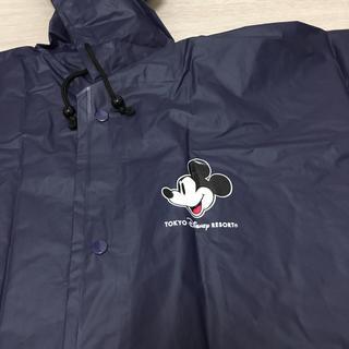 ディズニー(Disney)のディズニーランド 公式 レインコート 110 ネイビー(レインコート)
