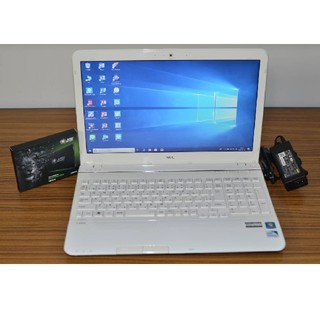 エヌイーシー(NEC)のWin10+office 爆速新品SSD240 NEC LS150/H 4GB(ノートPC)