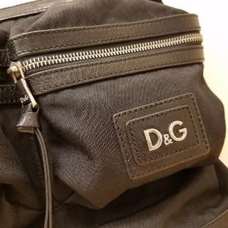 ディーアンドジー(D&G)の送料無料 D&G ショルダーバッグ ブラック(ボディーバッグ)