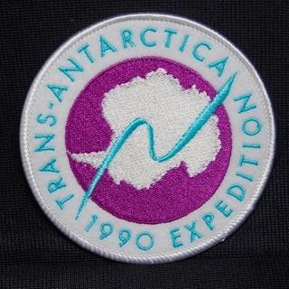 ザノースフェイス(THE NORTH FACE)の刺繍ワッペン 南極横断 トランスアンタークティカ 1990(ウインタースポーツ)