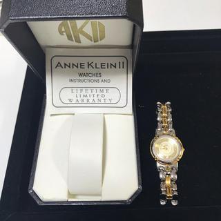 アンクライン(ANNE KLEIN)のAnne KleinⅡアンククレイン 時計 格安!!(腕時計)