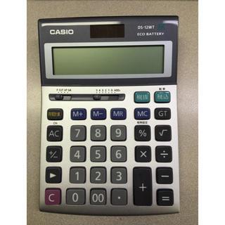 カシオ(CASIO)のカシオ 電卓 DS-12WT(オフィス用品一般)