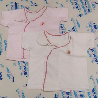 ニシマツヤ(西松屋)の西松屋 新生児肌着50㎝~60㎝(肌着/下着)