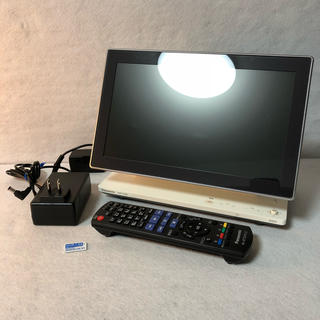 パナソニック(Panasonic)のパナソニック ポータブル 液晶テレビ VIERA DMP-HV200-K(テレビ)