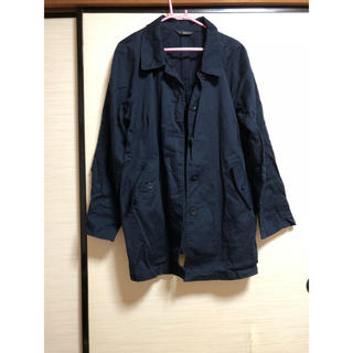 コート 4L 紺色(ピーコート)