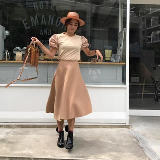 フレイアイディー(FRAY I.D)のバースデーバッシュ ボンディングAラインスカート(ロングスカート)
