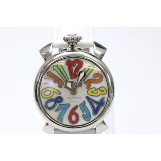 ガガミラノ(GaGa MILANO)のガガミラノ マヌアーレ40 5020.1 クォーツ 腕時計(腕時計(アナログ))