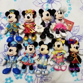 Disney - ミッキーミニー ぬいば セット おまけ付き