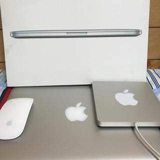 マック(Mac (Apple))のMacBookPro 13インチ Retina ディスプレイ(ノートPC)