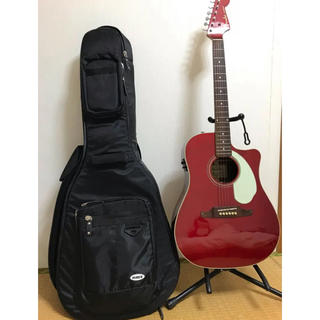 Fender - アコギ  Fender Sonoran SCE Candy Apple Red