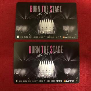 ボウダンショウネンダン(防弾少年団(BTS))のBTS「BURN THE STAGE The Movie」ムビチケ 2枚セット(その他)