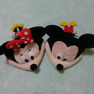 Disney - ミッキー ミニー ファンキャップ 子供