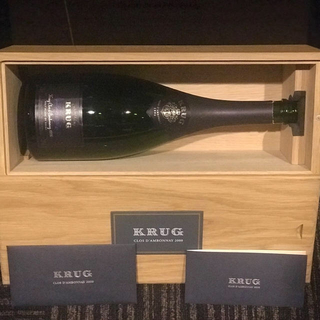 クリュッグ(Krug)のクリュッグ ダンボネ 空き瓶(シャンパン/スパークリングワイン)