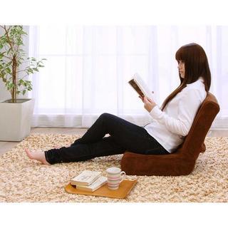 【座椅子ランキング連続1位】 座椅子 コンパクト クッション 腰痛減(座椅子)