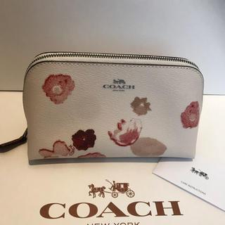7cc8b4cd50a9ce コーチ(COACH)の最新作 最新作 新品 コーチ COACH 花柄 コスメポーチ