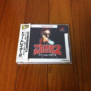 プレイステーション(PlayStation)のPS トゥームレイダー2(家庭用ゲームソフト)