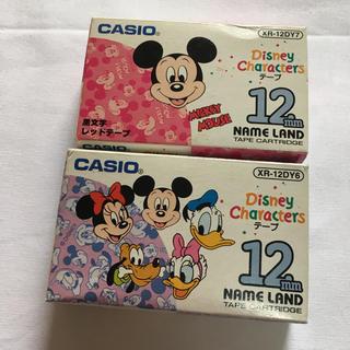 カシオ(CASIO)のディズニー ★ カシオ ネームランド テープ(オフィス用品一般)