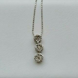 ジュエリーツツミ(JEWELRY TSUTSUMI)のK14WGダイヤモンドネックレス♡(ネックレス)