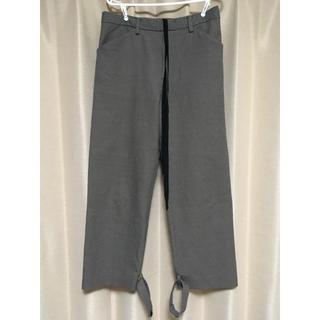 サンシー(SUNSEA)のsunsea gun club check straight pants 2(スラックス)