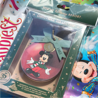 Disney - ディズニークリスマスメモ帳