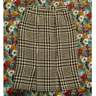 ディマジオ(DI MAGGIO)のDI MAGGIO  厚手スカート ツイード 千鳥格子 (ひざ丈スカート)