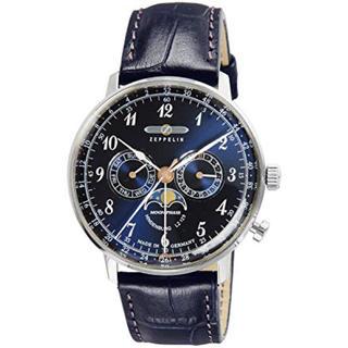 ツェッペリン(ZEPPELIN)の【定価54100円】ZEPPELIN 腕時計 Hindenburg ネイビ(腕時計(アナログ))