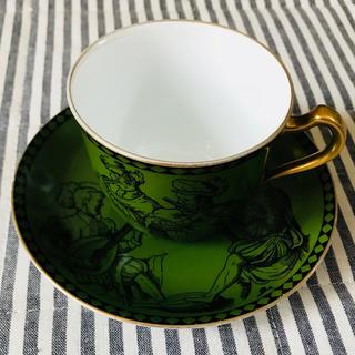 オオクラトウエン(大倉陶園)の大倉陶園 カップ&ソーサー(食器)
