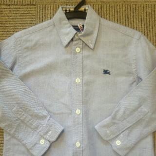 バーバリー(BURBERRY)の☆男の子 バーバリーシャツ110☆(ブラウス)