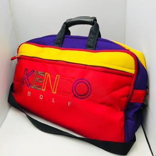 ケンゾー(KENZO)の☆特別価格☆ KENZO ケンゾー マルチカラー ゴルフバッグ(ボストンバッグ)