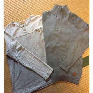 ザラ(ZARA)のザラZARA 男の子 長袖Tシャツ 長袖ニット 140セット(Tシャツ/カットソー)