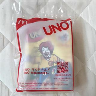 マクドナルド(マクドナルド)のUNO(トランプ/UNO)