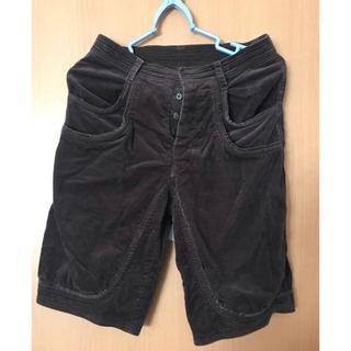 ツモリチサト(TSUMORI CHISATO)のツモリチサト ベロア素材 膝丈パンツ(カジュアルパンツ)