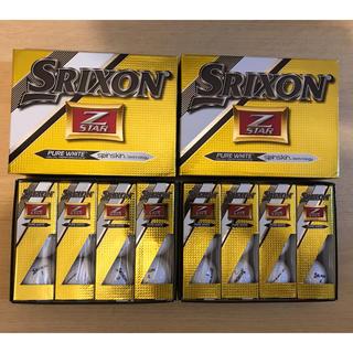 スリクソン(Srixon)のスリクソン Z-STAR 2ダース(24個) ホワイト色(その他)