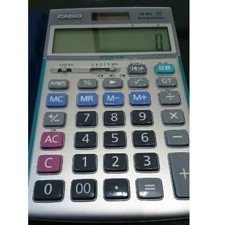 カシオ(CASIO)のCASIO 電卓 AZ-26S  美品(オフィス用品一般)