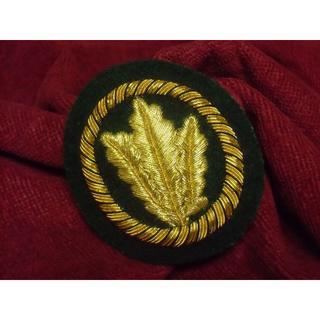 BWドイツ軍・連邦軍*歩兵・猟兵*将校用ベレー章/Barett Jgertrup(戦闘服)