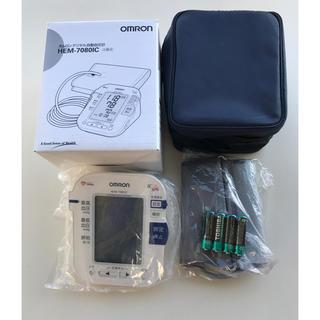 オムロン(OMRON)の新品 オムロン 自動血圧計 (体重計/体脂肪計)
