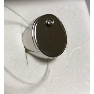 エムエムシックス(MM6)のメゾン マルジェラ リング 指輪 ブレスレット付 シルバー ブラック 新品未使用(リング(指輪))