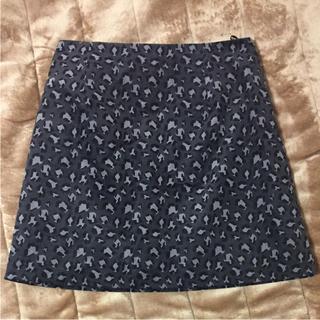 ジーユー(GU)のGU ♡ ひょう柄スカート(ミニスカート)
